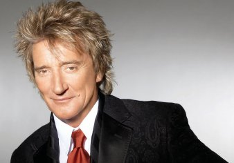 Rod Stewart in Blackpool