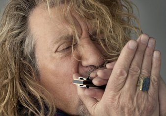 Robert Plant in Blackpool