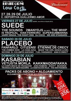 Cartel Low Cost Festival 2012