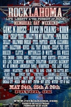 Rocklahoma 2013