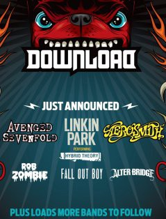 Download Festival 2014 lineup