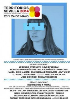 Cartel Territorios Sevilla 2014