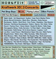 Moogfest 2014 lineup