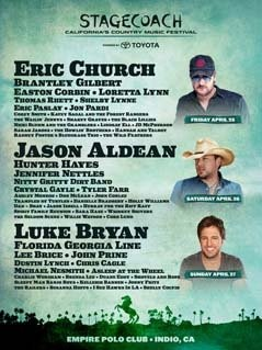 Stagecoach Festival 2014 lineup