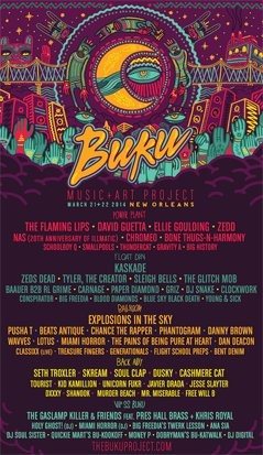 BUKU Music & Art Project 2014