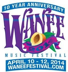 Wanee Music Festival 2014 lineup