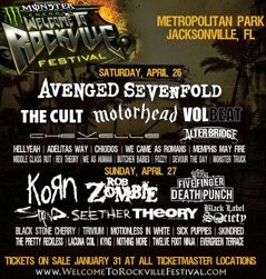 Welcome to Rockville 2014 lineup