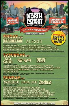 North Coast Music Fest 2014