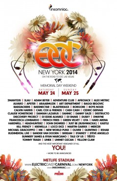 Electric Daisy Carnival New York 2014