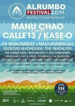 Cartel AlRumbo Festival 2014