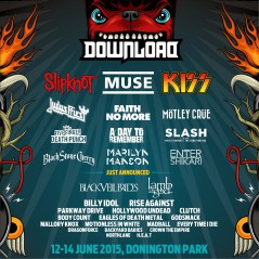 Download Festival 2015 lineup