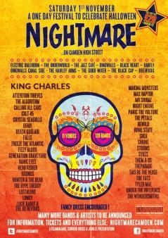 Nightmare Festival Camden 2014