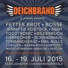 Deichbrand Rock Festival 2015