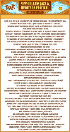 New Orleans Jazz & Heritage Festival 2015