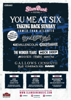 Slam Dunk Festival South 2015