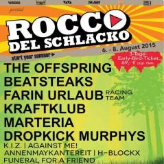 Rocco del Schlacko 2015Line up