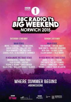 Radio 1 Big Weekend 2015