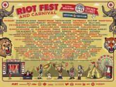 Riot Fest Chicago 2015 lineup