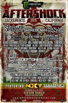 Aftershock Festival 2015
