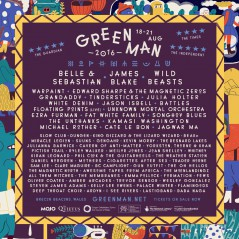 The Green Man Festival 2016 lineup