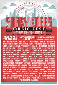 Shaky Knees Festival 2016