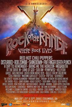 Rock on the Range 2016