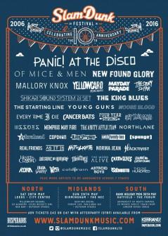 Slam Dunk Festival North 2016