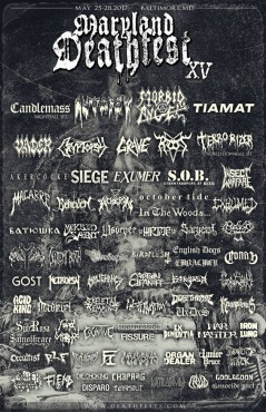 Maryland Deathfest 2017 lineup