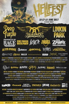 Hellfest 2017 affiche