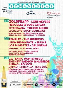 Tomavistas 2017 lineup