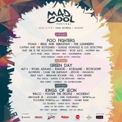 Mad Cool Festival 2017 lineup