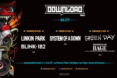 Download Festival Paris 2017 affiche