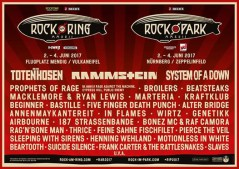 Rock am Ring 2017 lineup