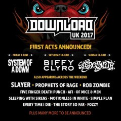 Download Festival Reino Unido 2017