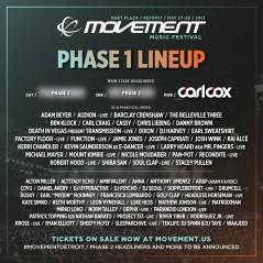 Movement Detroit 2017 lineup