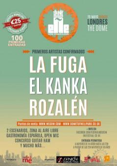 Festival Música eÑe 2017 lineup