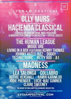 Lytham Festival 2017 lineup