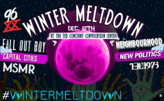 96X Winter Meltdown 2013 lineup