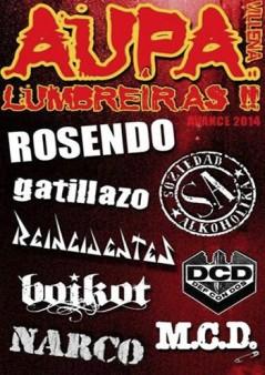 Cartel Aupa Lumbreiras!!  2014