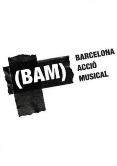 Cartel BAM (Barcelona Acció Musical) 2014