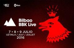 Cartel Bilbao BBK Live 2016