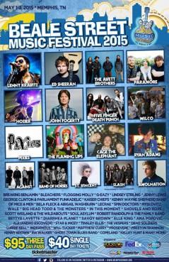 Beale Street Music Festival 2015