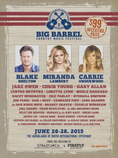 Big Barrel Country Music Festival 2015