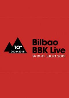 Cartel Bilbao BBK Live 2015