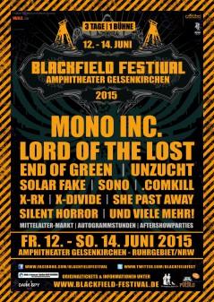 Blackfield Festival 2015Line up