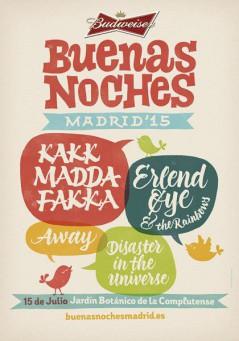 Buenas Noches Madrid 2015