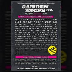 Camden Rocks 2016