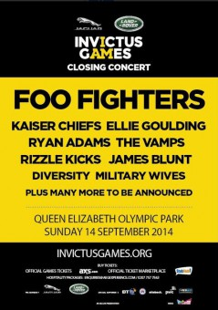 Invictus Games Closing Ceremony 2014
