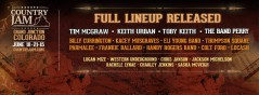 Country Jam Colorado 2015 lineup