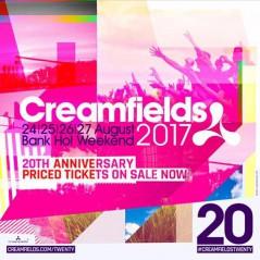 Creamfields UK 2017 lineup